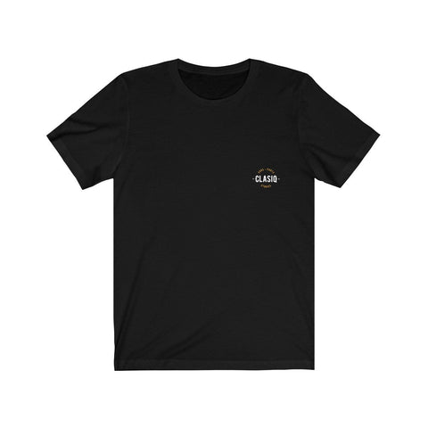 Black New Unisex Jersey Short Sleeve Tee