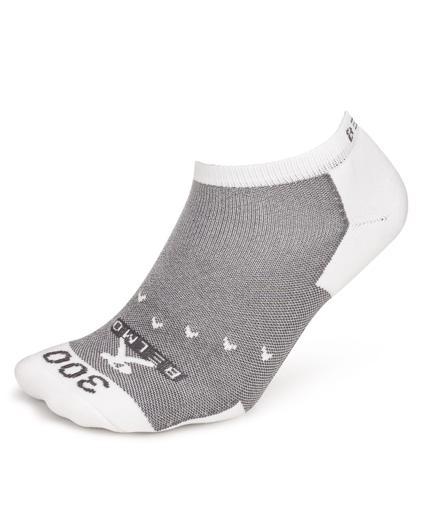 White Belmo 300 Low Cut Bowling Socks