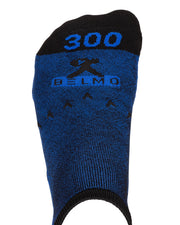 Blue Belmo 300 Low Cut Bowling Socks