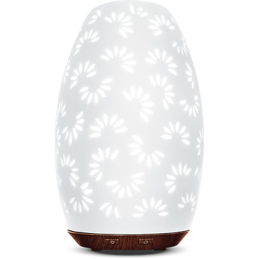Greenair Daisy Ceramic Essential Oil Diffuser
