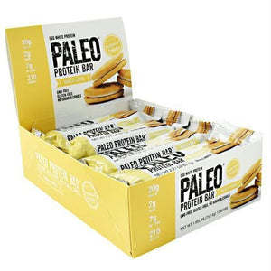 Julian Bakery Paleo Protein Bar Vanilla Cookie - Gluten Free - Bars