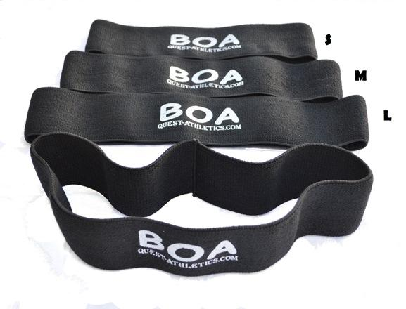 BOA Glute Activator Strength Resistance/Warm Up Exercise Band