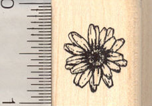 Smallest Daisy Rubber Stamp, Flower