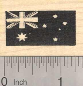 Flag of Australia Rubber Stamp, Australian Banner