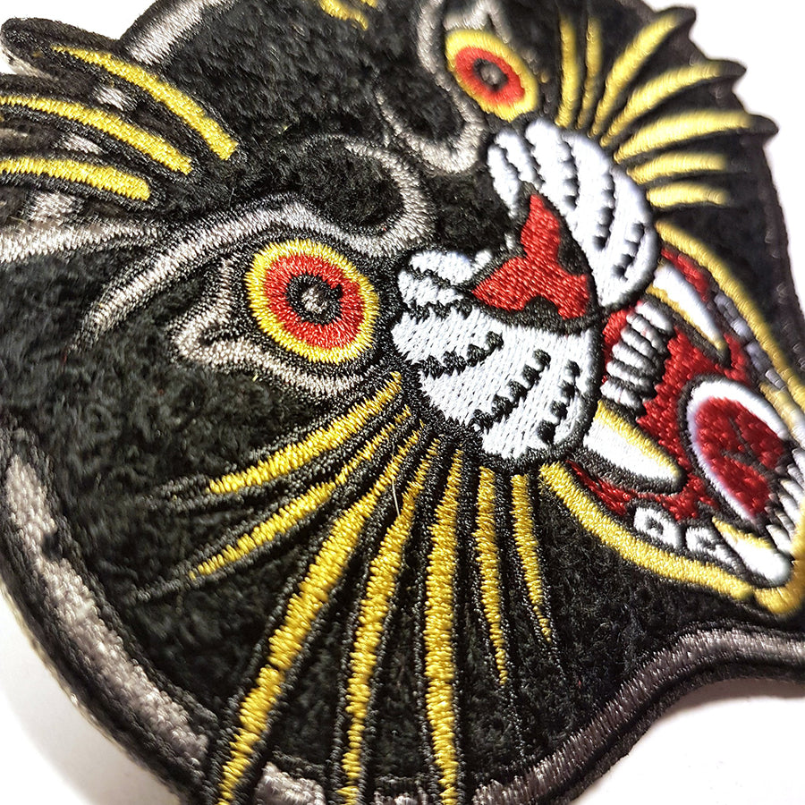 Black Panther Chenille Patch