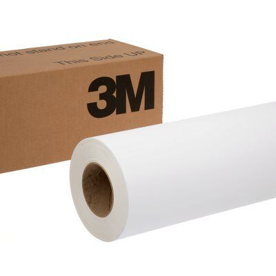 Graphic Film 3M IJ180CV3-10-54X50 Controltac Graphic Film With Comply V3 Adhesive IJ180Cv3-10 White 54 x 50yds (1.4 m x 45.7m)