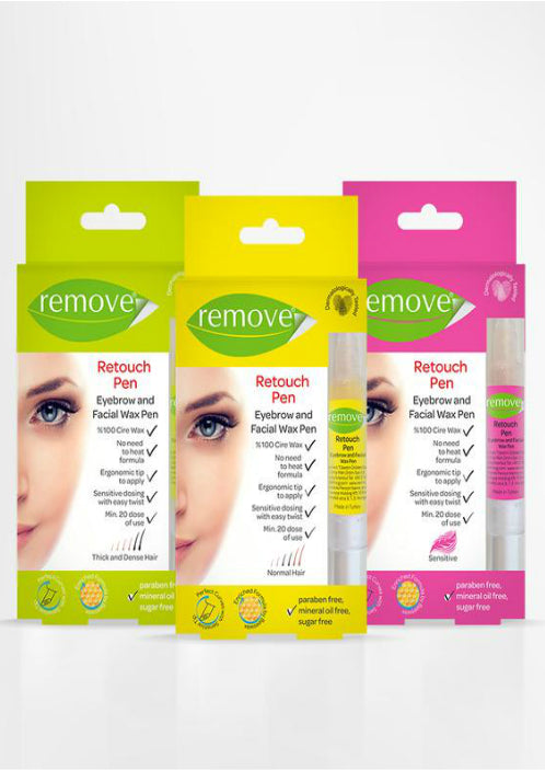 Remove Eyebrow Facial Wax Pen Organic Cire Wax Retouch Pen 4 ml-Depilatory Product-Remove-COSMEXP