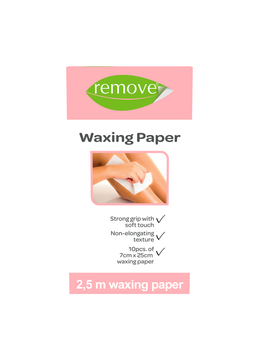 Waxing Paper-Depilatory Product-Remove-COSMEXP