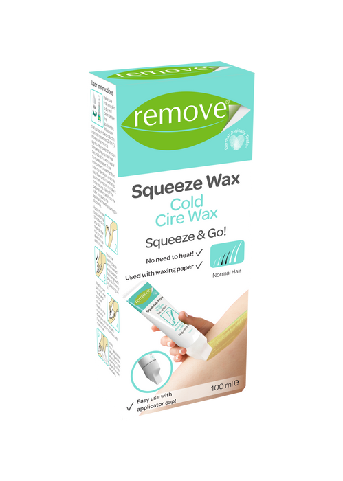 Squeeze Wax Cold Cire Wax-Depilatory Product-Remove-COSMEXP