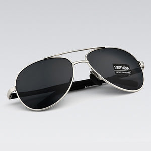 VEITHDIA Men's Sunglasses Designer  Polarized Sun Glasses