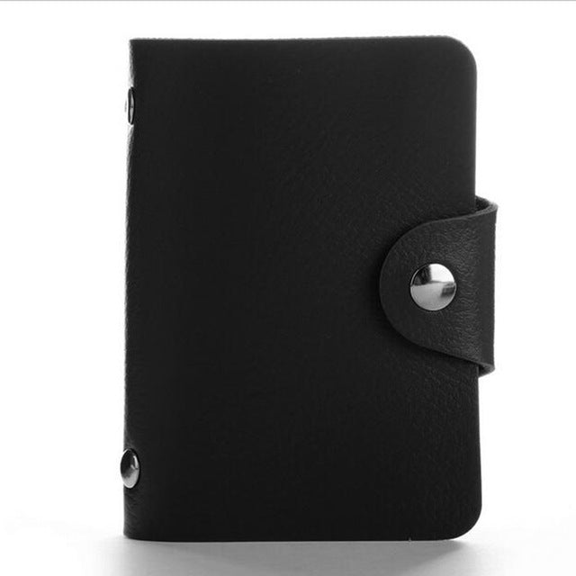 Genuine Solid Leather 24 Professional Business Card case