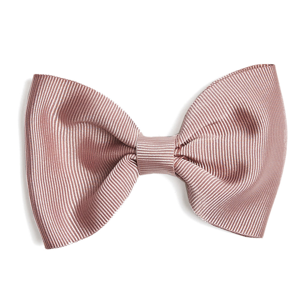 Medium bow clip - Dusty Pink - Hair Accessories - PEPA AND CO