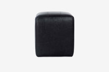 Load image into Gallery viewer, Buenos Aires Pouffe Full Leather in Black