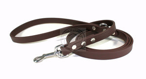 Dark Chocolate Brown Biothane Dog Leash