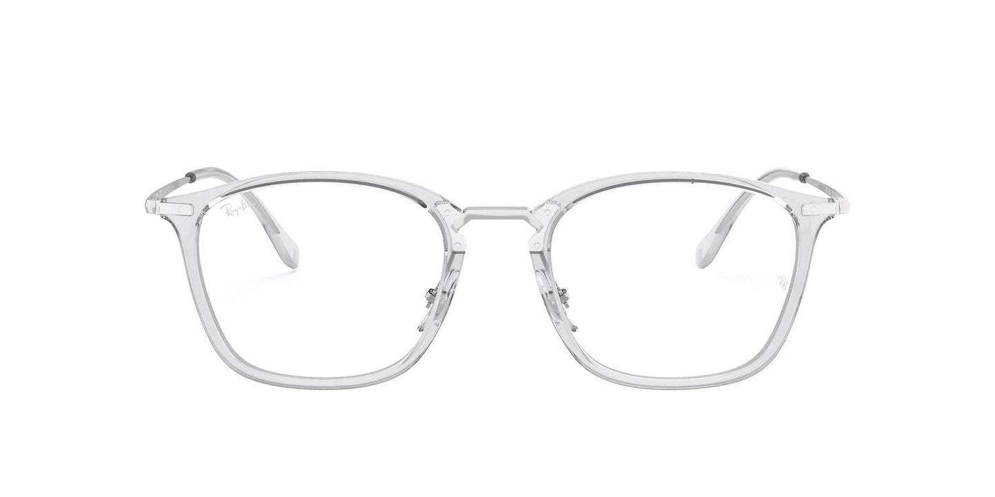 Ray-Ban Rx RB7164 Transparent / Clear Lens Eyeglasses