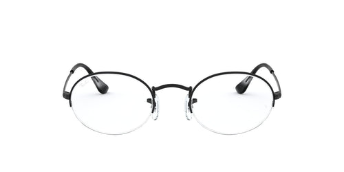 Ray Ban Rx RB6547 Black / Clear Lens Eyeglasses