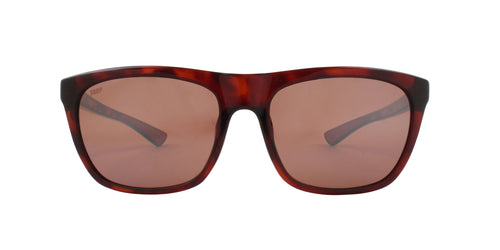 Costa Del Mar Cheeca Tortoise / Rose Lens Mirror Polarized Sunglasses