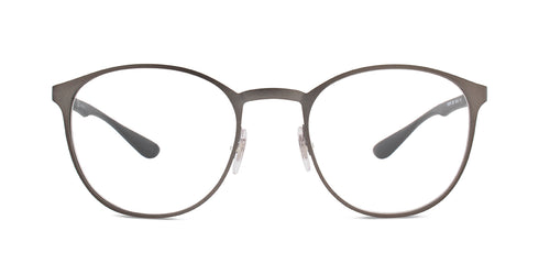 Ray Ban Rx RB6355 Gunmetal / Clear Lens Eyeglasses