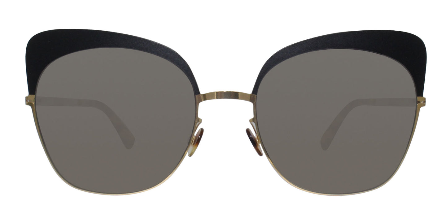 Mykita Anneli Gold / Gray Lens Sunglasses