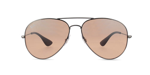 Ray-Ban RB3558 Black / Brown Lens Mirror