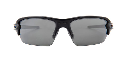 Oakley Flak XS Black / Gray Lens Mirror Polarized Sunglasses