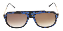 Thierry Lasry Century Black/Blue / Brown Lens Sunglasses