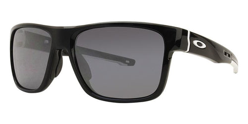 Oakley Crossrange Black / Silver Lens Mirror Sunglasses