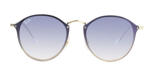 Ray-Ban RB3574N Gold / Blue Lens