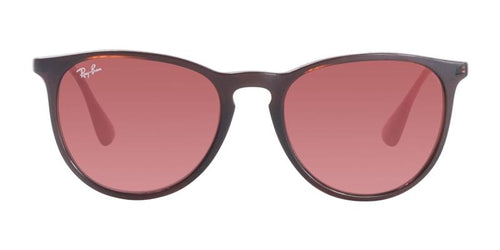 Ray-Ban Erika Brown / Red Lens