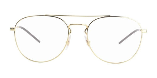 Ray-Ban RX6414 Gold / Clear Lens