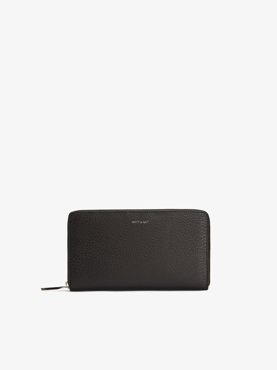 Matt & Nat Trip Wallet Black | Vegan Scene