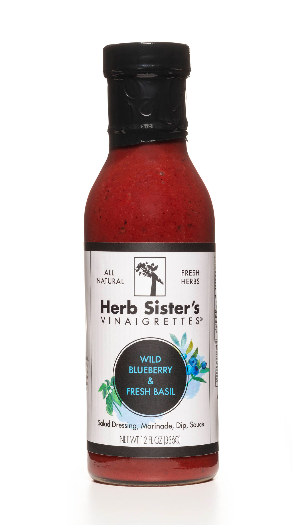 Herb Sisters Wild Blueberry and Fresh Basil Vinaigrette