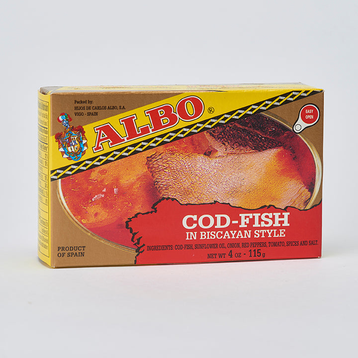 Albo Cod-fish in Biscayan Style