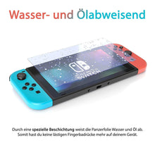 Laden Sie das Bild in den Galerie-Viewer, Nintendo Switch Panzerglas - extrem dünn und ultra hart - Anti-Fingerabdruck Beschichtung