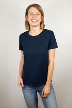 Load image into Gallery viewer, T-shirt women navy