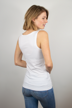 Load image into Gallery viewer, Tank top women white