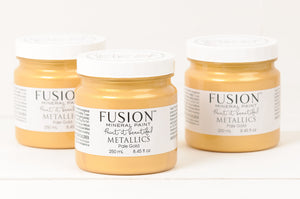 Metallic Pale Gold - Fusion Mineral Paint