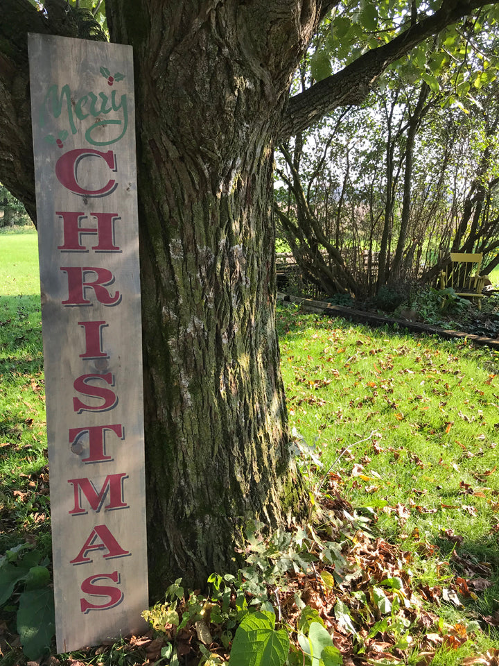 Double Sided Seasonal Porch Sign – Nov 1, 2018