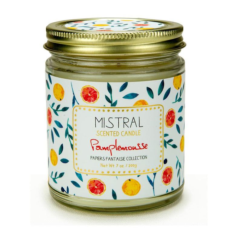 Grapefruit Papiers Fantaisie Jar Candle