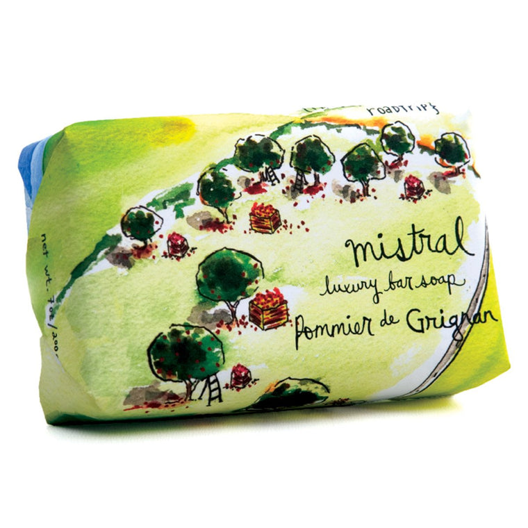 GRIGNAN APPLE SUR LA ROUTE GIFT SOAP