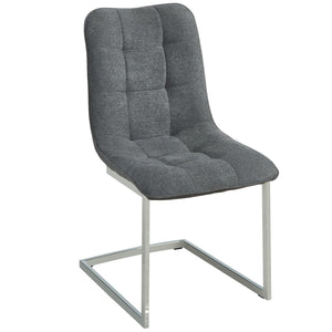 Galyn Side Chair in Grey (2 Pk)