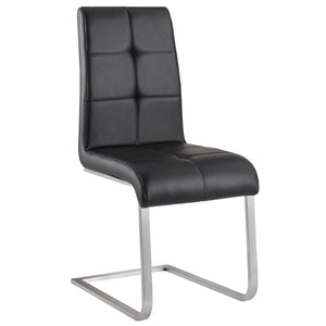 Kolt Side Chair in Black (2 Pk)