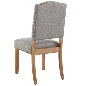 Roland Side Chair in Grey (2 Pk)