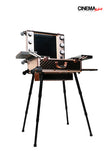 Professional LED Lighted Makeup Studio w/stand (Rose Gold)
