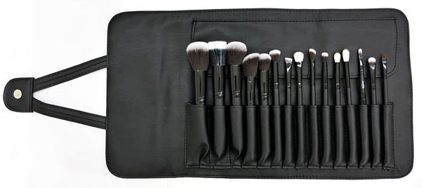 Cinema Makeup PRO Brush Set 15pcs with Pouch