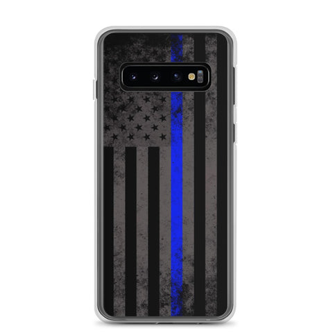 Thin Blue Line American Flag Samsung Case