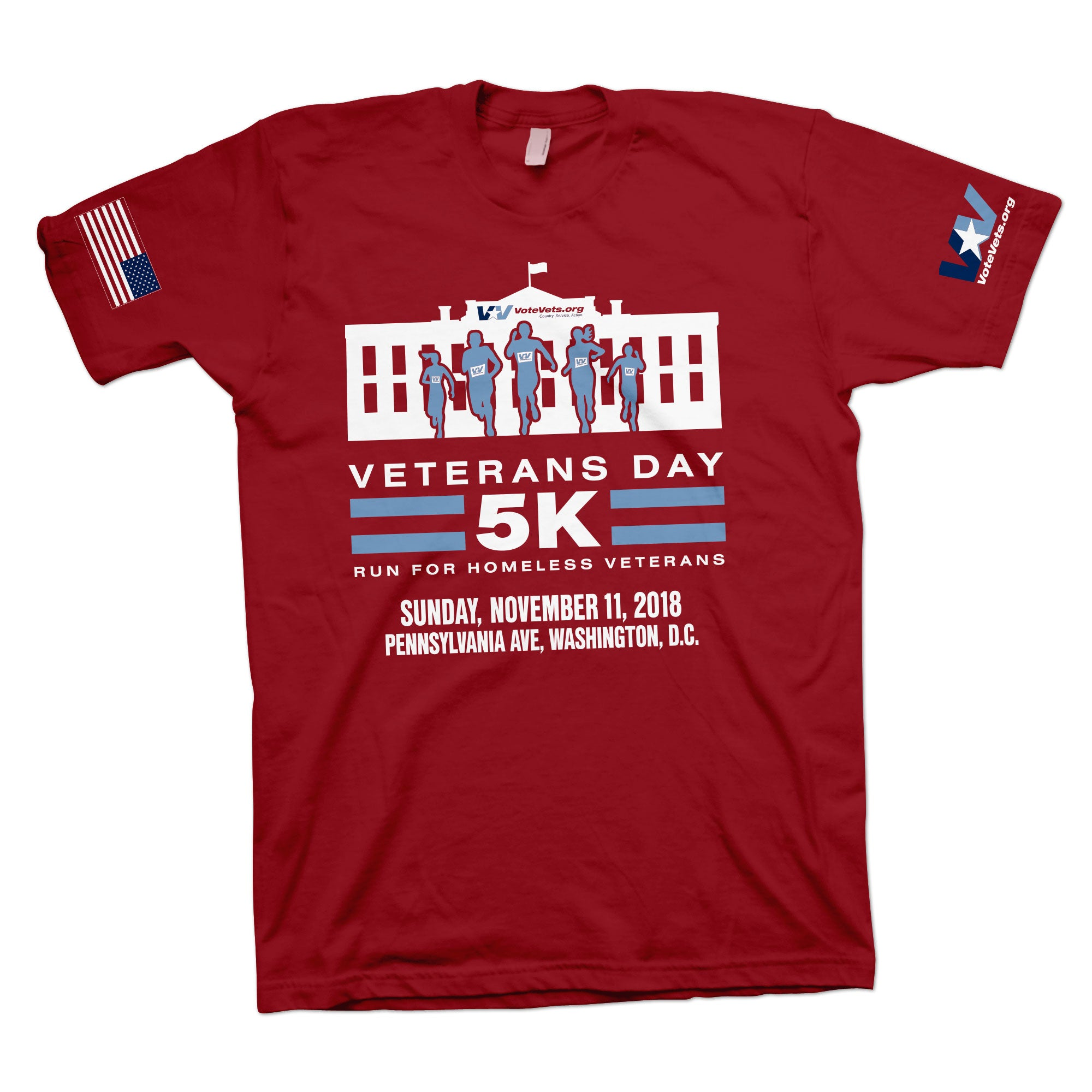 VoteVets 5k Tee