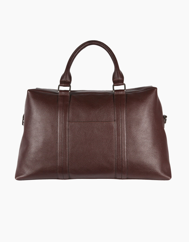 Dorset Dark Brown Overnight Bag