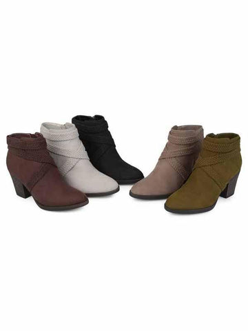PMS Boots Gray / 35 Autumn And  Winter Models With Thick And High Heel Wild Short Martin Boots Women's Boots