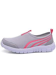 PMS Sports Shoes Light Gray / 36 Spring And Summer New Women's Shoes Lightweight Ladies Sports Shoes Casual Sports Shoes Running A Pedal Lazy Shoes